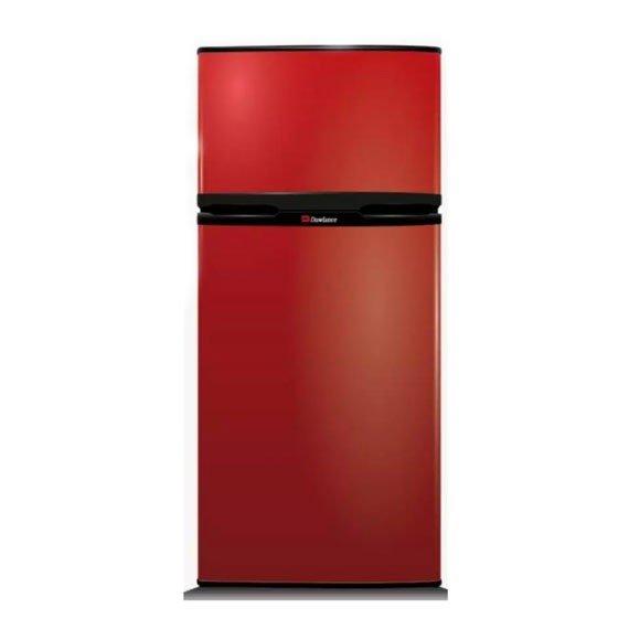 Dawlance Double Door Refrigerator Red & Black 140 Ltr - 5 Cft - 9107 - Karachi Only