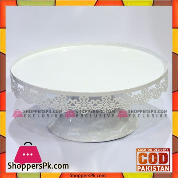 Fancy 10 Inches Plain Cake Stand