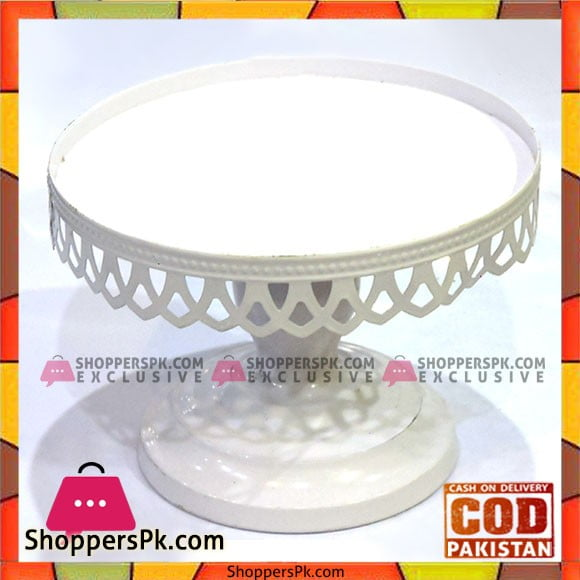 Fancy 6 Inches Plain Cake Stand