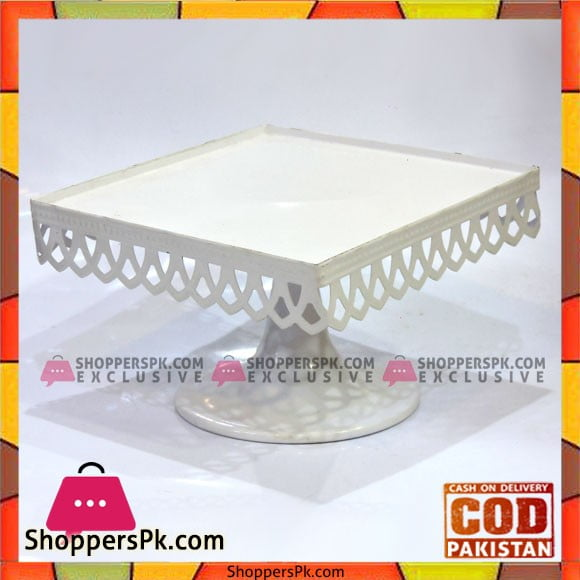 Fancy 7 Inches Plain Cake Stand