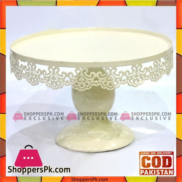 Fancy 8 Inches Plain Cake Stand