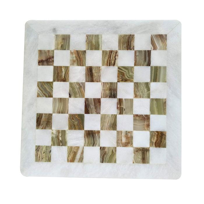 Handmade 16inch Marble Chess Board Game Set