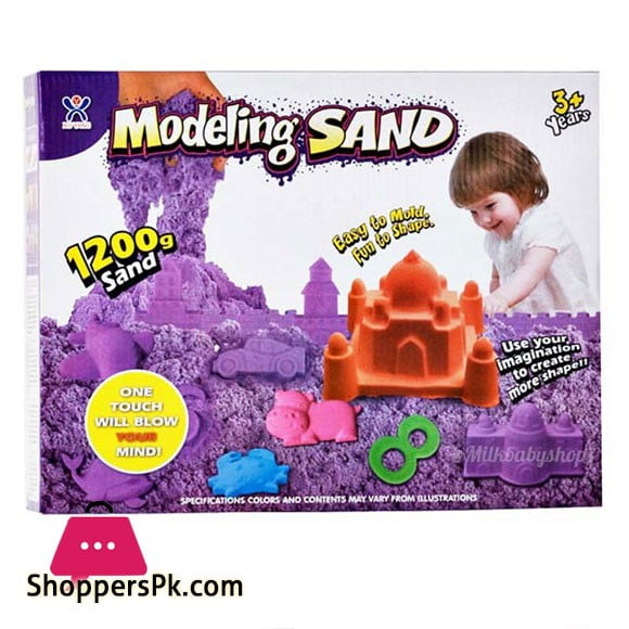 Kids Playing Modeling Sand Toys Magic Sand 1200grm
