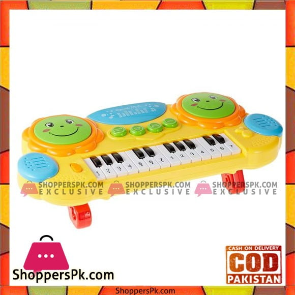 Kids Playing Pat Drums and Piano