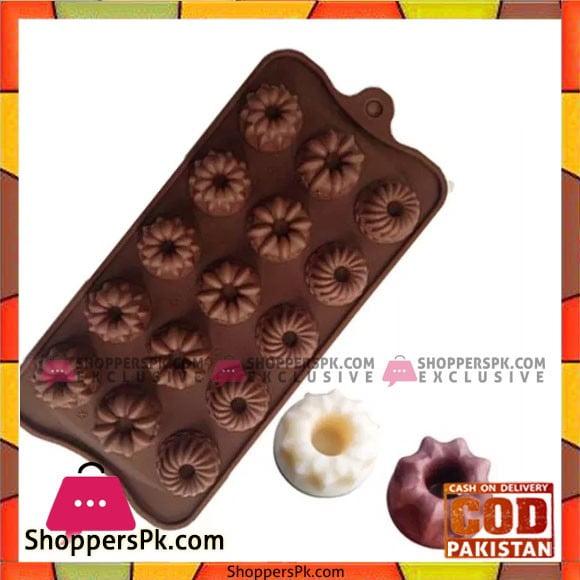 Silicone Mini Bundt Chocolates Mould