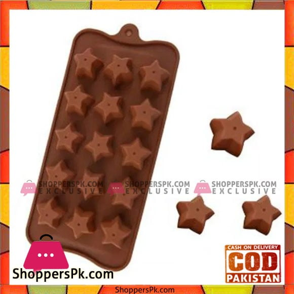 Silicone Star Chocolate Mold