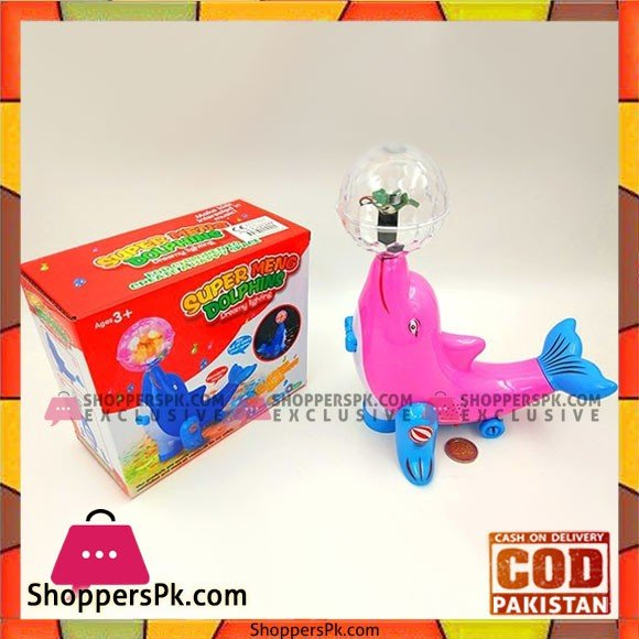 Super Meng Dolphins Musical Toy for Kids