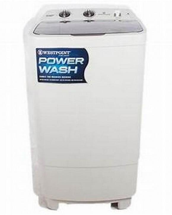 Westpoint Westpoint Transparent Washing Machine Single Tub OP- WF-1017 White