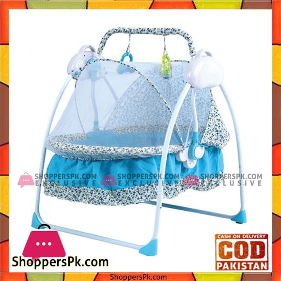 Baby Electric Cradle Automatic Remote Control Baby Swing Bed