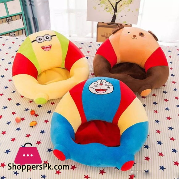 Baby Support Seat Plush Soft Baby Sofa Infant Learning To Sit Chair Keep Sitting Posture Comfortable For Baby Toys Gifts 0-2
