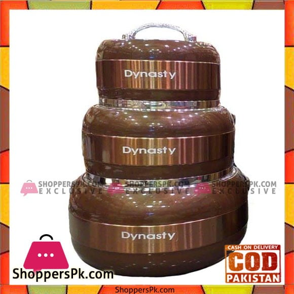 Dynasty Jumbo Glass top 3 Piece Hotpot Set
