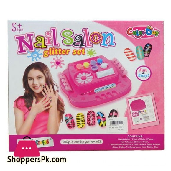 High Quality Nail Salon Glitter Set