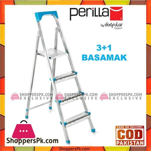Straight Perilla Profile Ladder 3 + 1 Step - GI200 Turkey Made