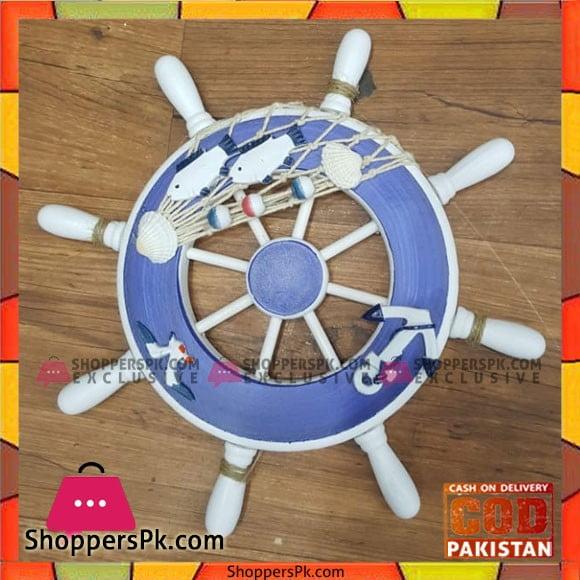 Home Decor Hanging Ship Steering Wheel 9 inch