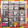 Intelligent Portable Plastic Grill Cube Cabinet G16