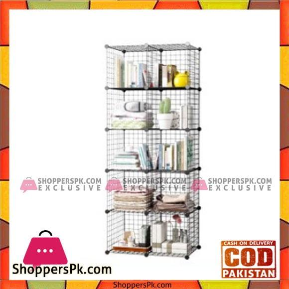 Intelligent Portable Plastic Grill Cube Cabinet