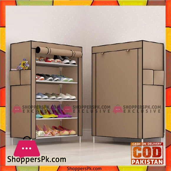 Kaidi Multi-Layer Furniture Adjustable Organizer Shoe Diaplay Shoes Door Shelf Shoe Rack