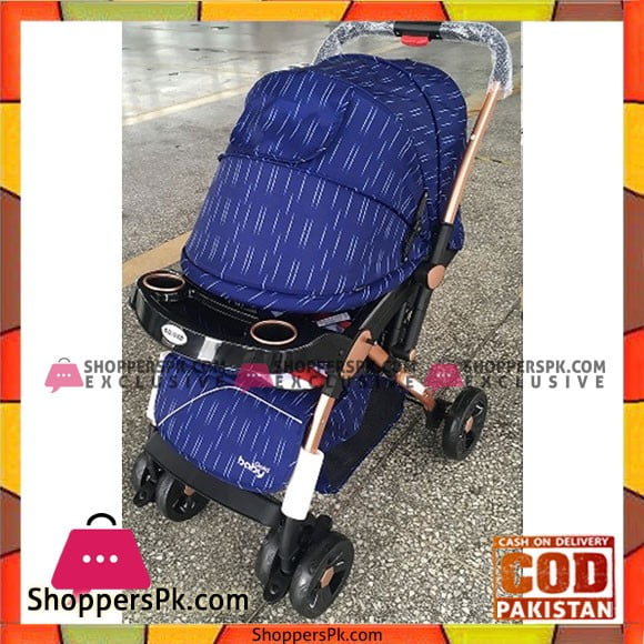 Light Weight One Touch Folding Baby Stroller