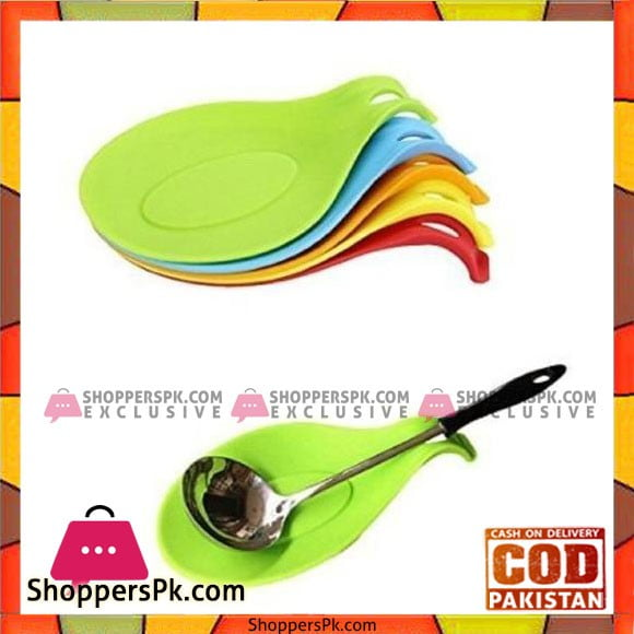 Silicone Spoon Rest for Kitchen Utensils