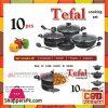 Tefal 10 Pcs Cooking Set