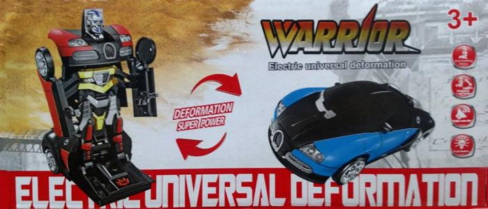 Warrior Electric Universal Deformation kids Car