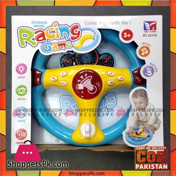 Steering Wheel Racing Game