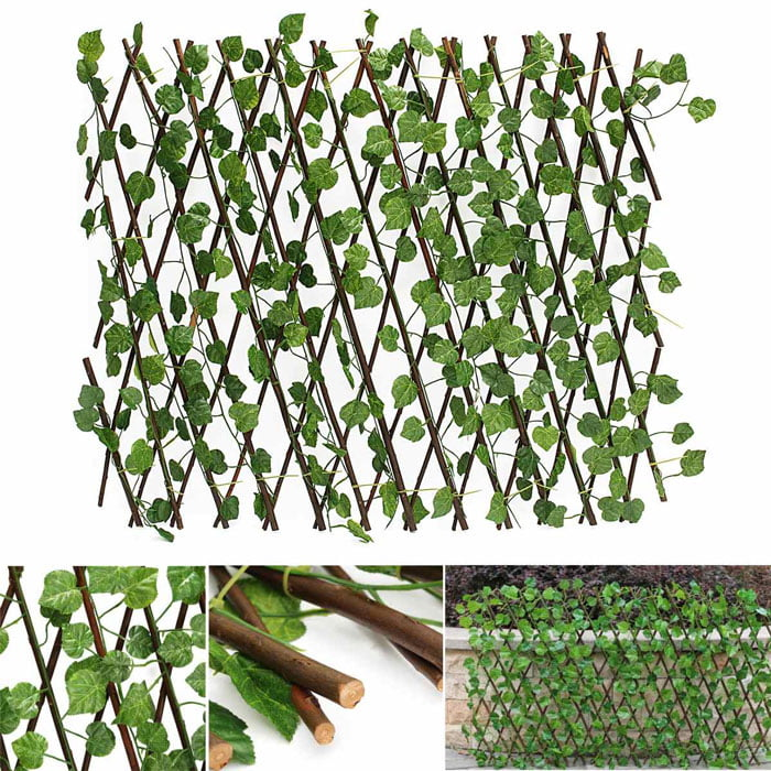 Artificial Wall Covering Leaves Plant Flowers Home Decoration 4 Feet