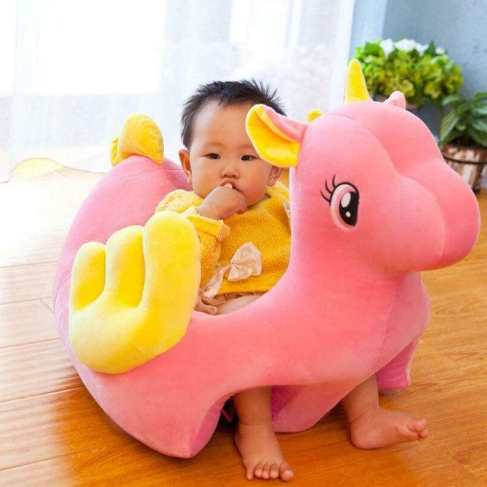Children Cartoon Unicorn Animal Sofa Chair for Bedroom