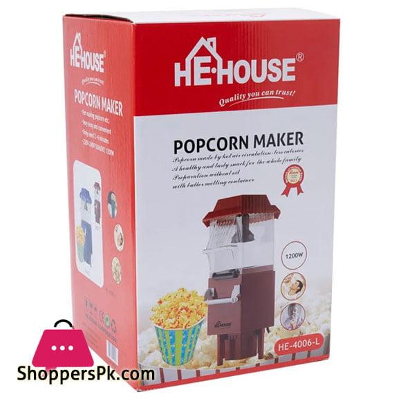 He House Popcorn Maker HE-6007