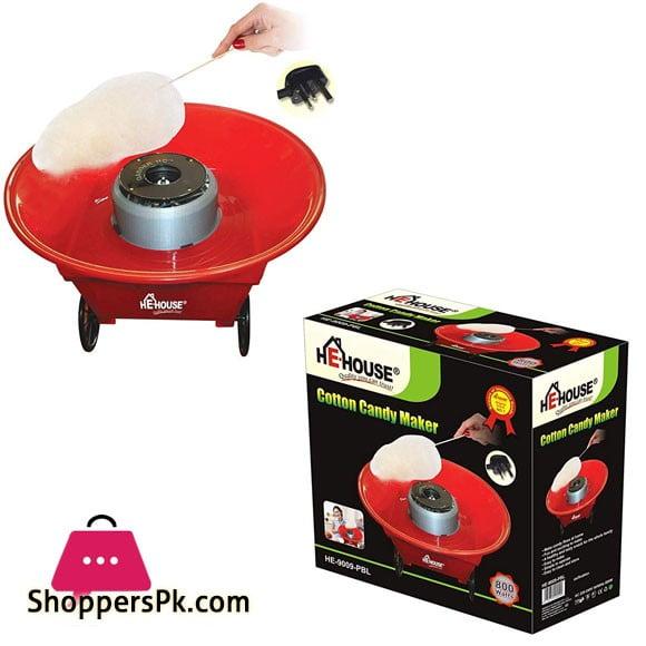 HeHouse Cotton Candy Maker HE-9008-PBL