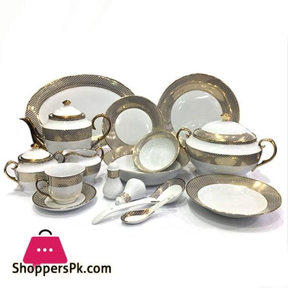 High Quality 72 Pieces Porcelain Dinner Set.