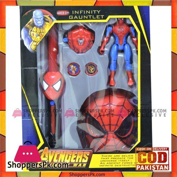 Kids Playing Avengers Infinity War Spider man