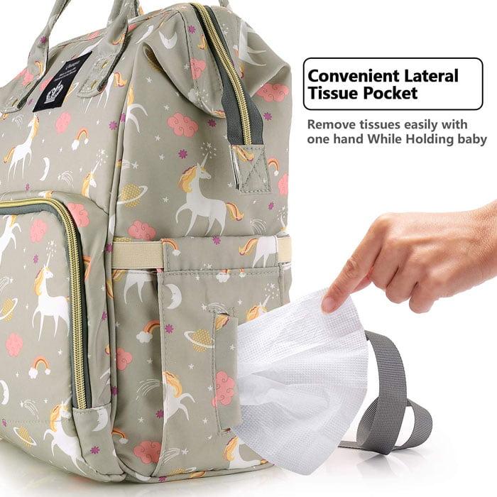 Unicorn Baby Nappy Bag Diaper Bag Backpack Mummy Bag