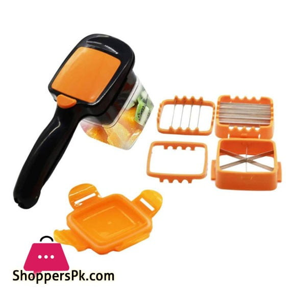 5 in 1 Nicer Dicer Quick Fruit Vegetable Cutter Set