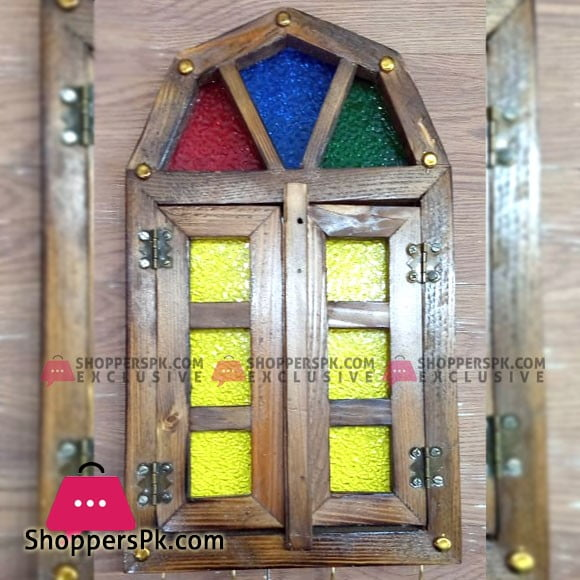 Beautifull Window Design Key Holder Wooden