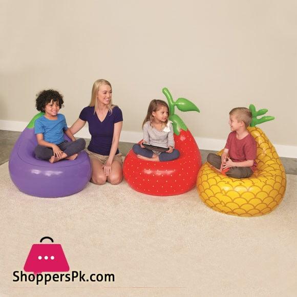 Bestway Fruit Kiddie Lounge Chair 72 X 72 X 89CM - 75066