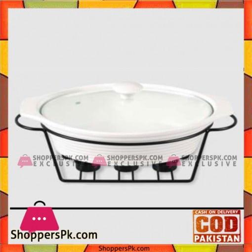 Brilliant Oval Burner Dish Large – CX9762