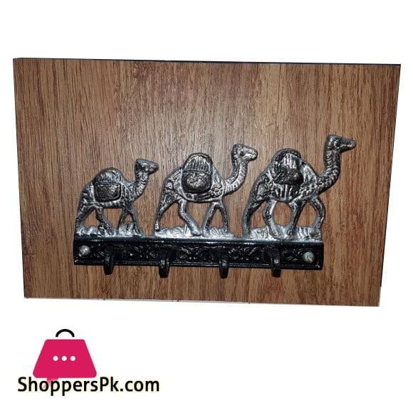 Camel 4 Hook Key Chain Holder