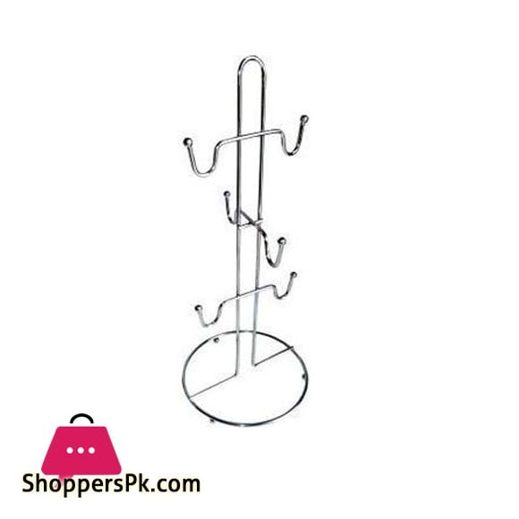 Coffee Mug Holder Hook Cup Stand Tree