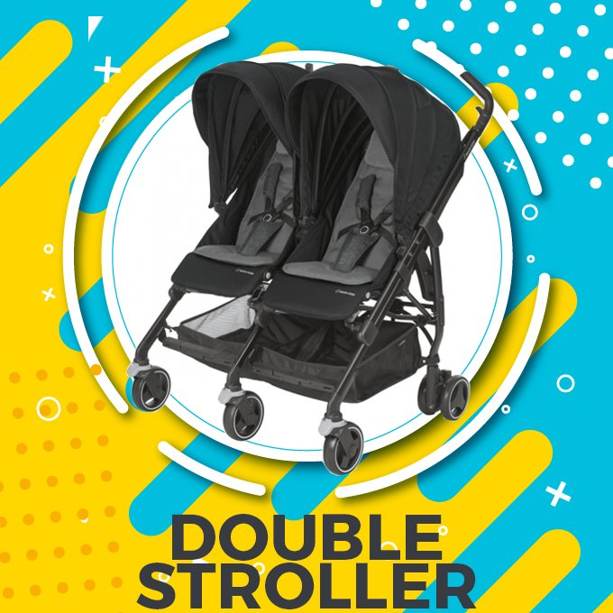 Double Stroller, Twin Stroller, Twin Prams Price in Pakistan