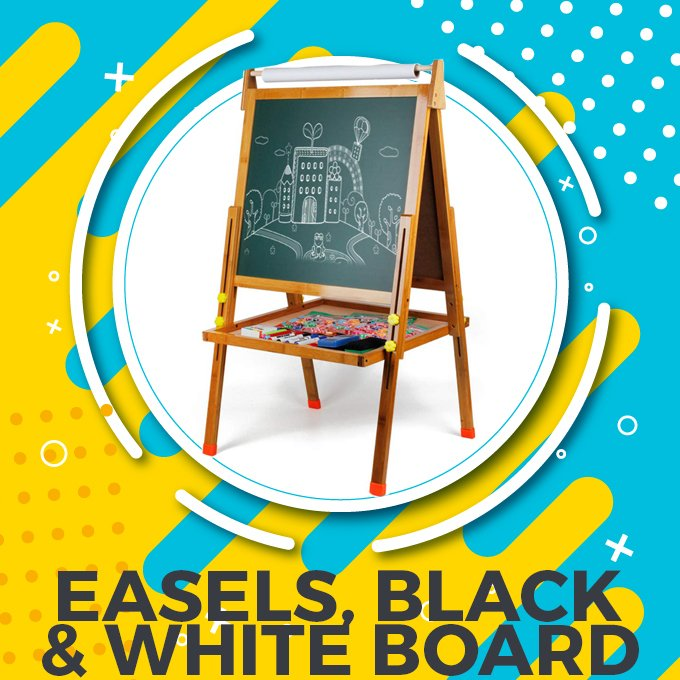Easels, Black & White Boards in Pakistan