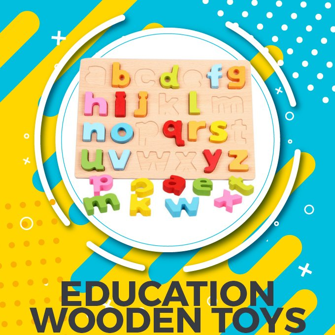 Education Wooden Toys in Pakistan