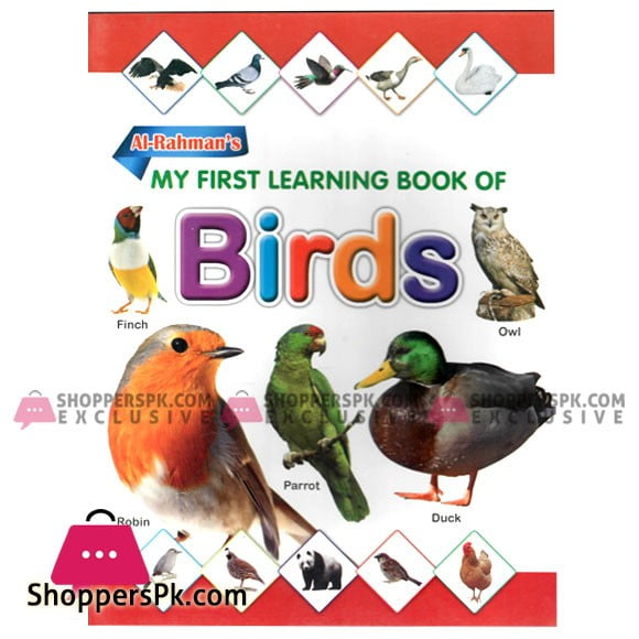 My First Learning Book of Birds