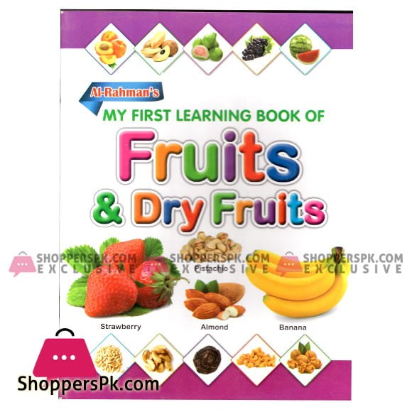 My First Learning Book of Fruits & Dry Fruits