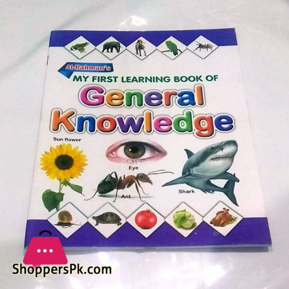My First Learning Book of General Knowledge