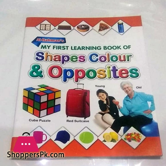 My First Learning Book of Shapes Colour & Shape Opposites