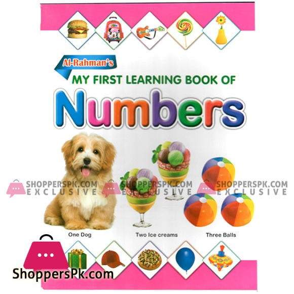 My First Learning Book of Numbers