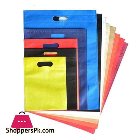 Non Woven Bags 60 GSM - D Cut - 1000 Pcs - 10x13 inches - Wholesale Price - Rs 9.5 Per Pcs