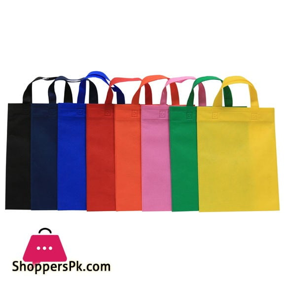 Non-Woven Bags with Handle - 40 GSM - 5000 Pcs - 12x16 Inches - Wholesale Price - Rs: 20.5 Per Pcs
