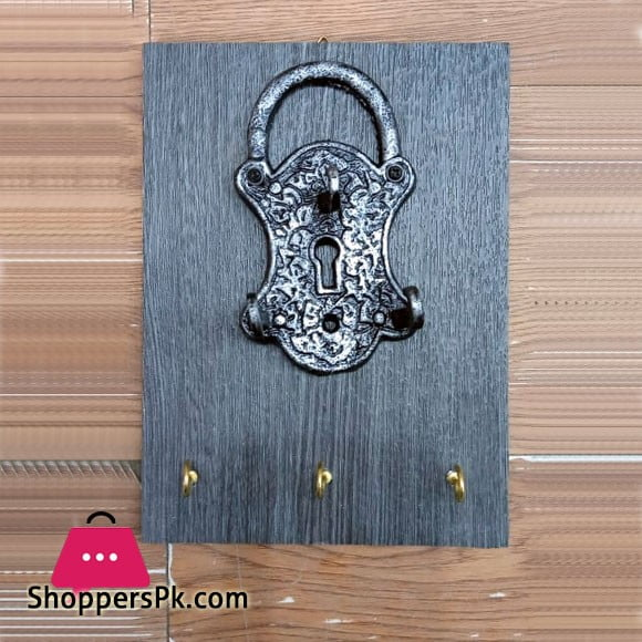 Pad Lock Key Holder 6 Hook